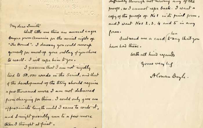 Letter_from_Arthur_Conan_Doyle_to_Herbert_Greenhough_Smith